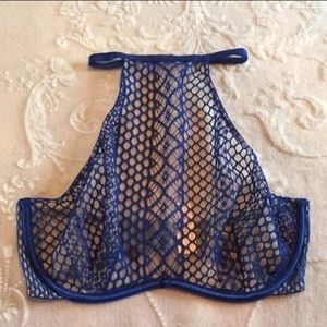 Victoria's Secret Very Sexy Fishnet High Neck 32D